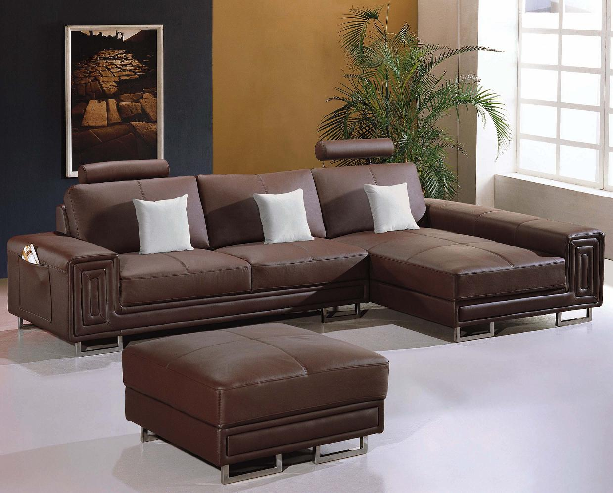 modern black leather sofa traditional wood trim t957  sectional design co