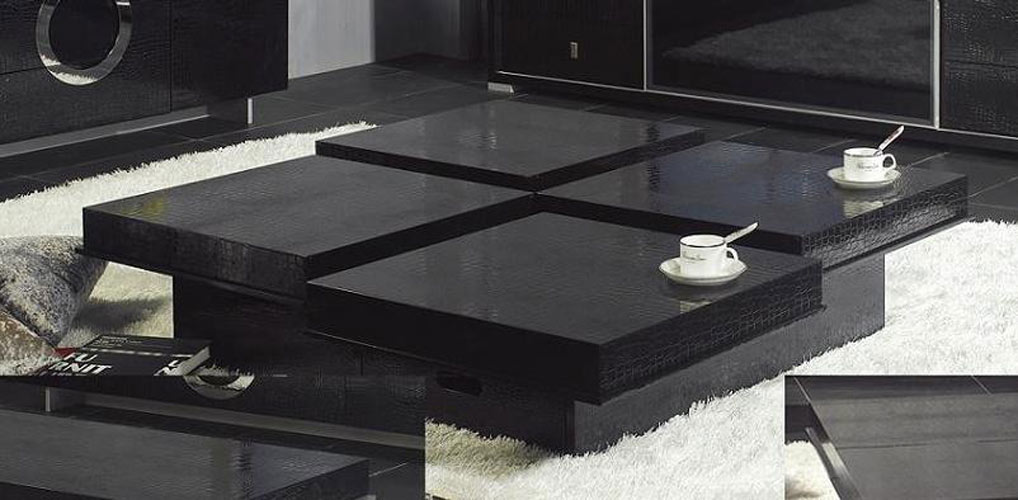 black living room tables modern design ideas uk crocodile coffee table 8879a co