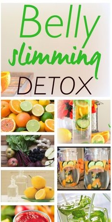 Best Homemade Belly Fat Slimming Detox Recipe