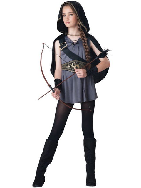 Cute Kid With Arrow and Bow Halloween Amazing Costume.