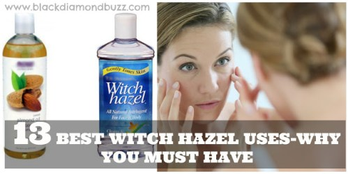 Witch Hazel Uses - Why you must have it