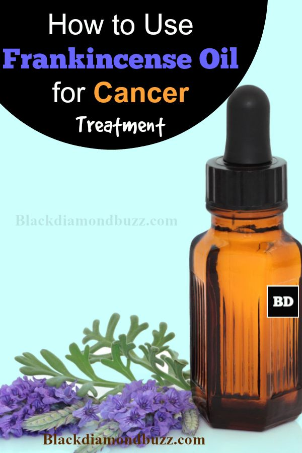 How to Use Frankincense Oil for Cancer