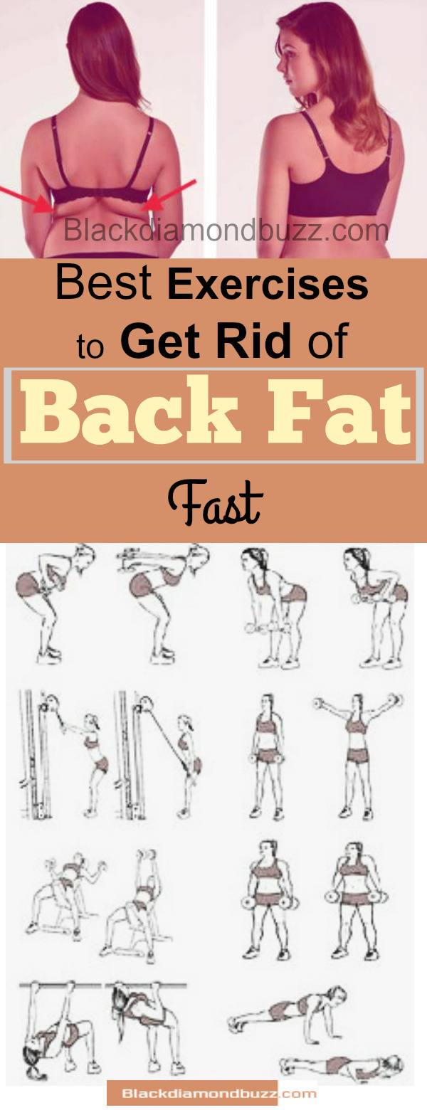 Home Exercises To Get Rid Of Back Fat