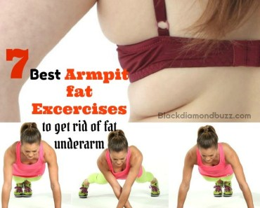 Best Armpit Fat Exercises: To Get Rid of Underarm Fat