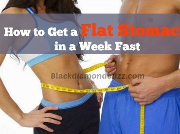 How to Get a Flat Stomach in a Week Fast web
