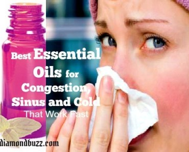 Best Essential Oils for Congestion, Sinus and Cold That Work Fast