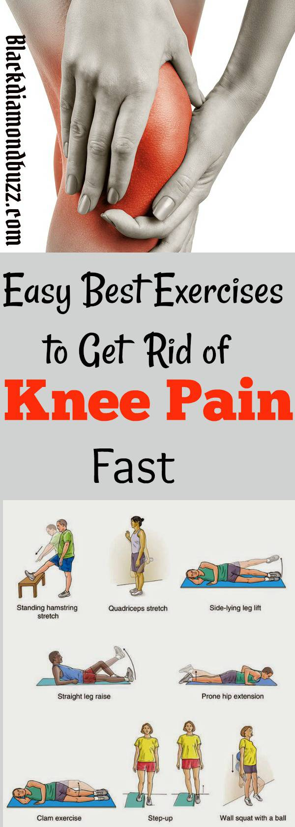 7 Best Exercises for Knee Pain,Swelling and Stiffness Relief - Proven To Strengthen Knees