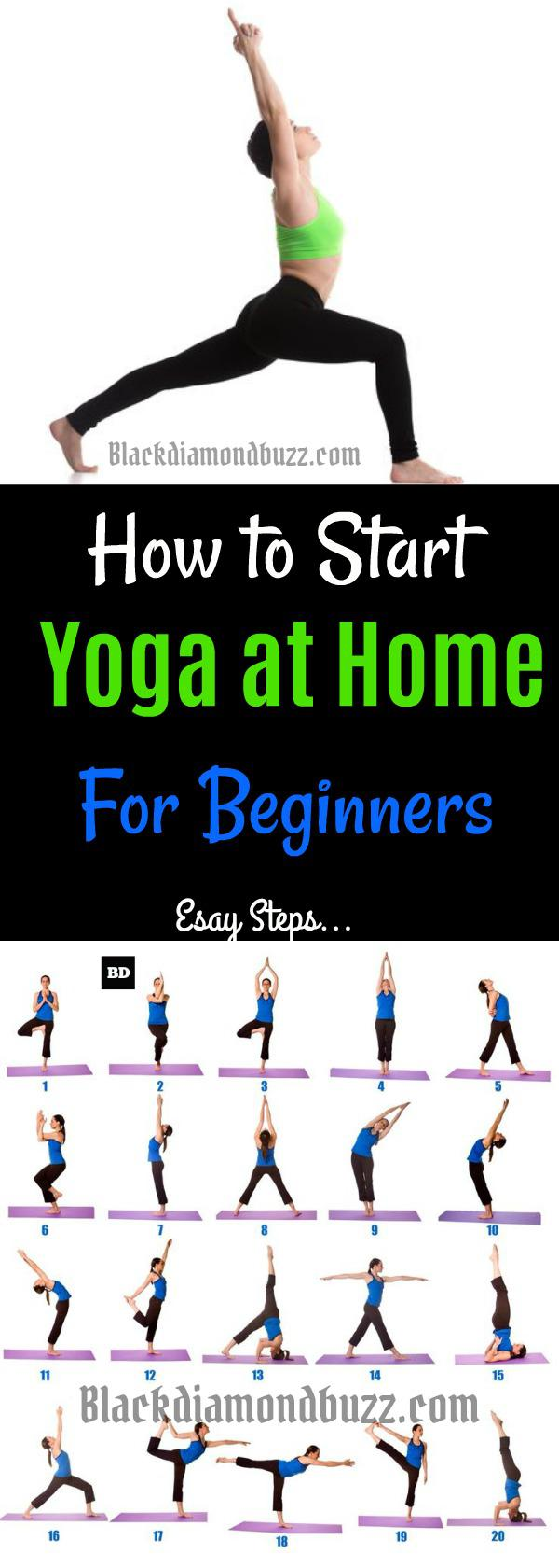 7 Easy Best Yoga Poses for Beginners and Back Stretches at ...