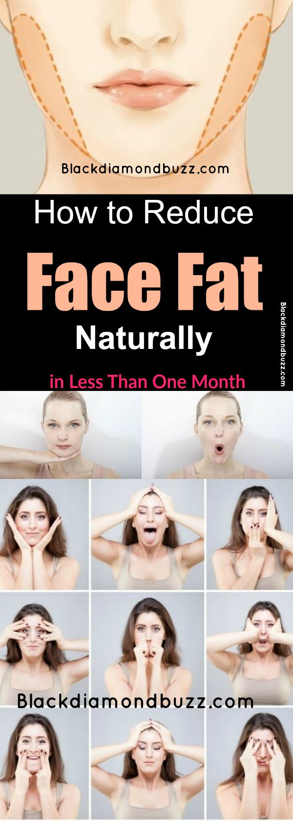 How to Reduce Face Fat Naturally in Less Than One Month