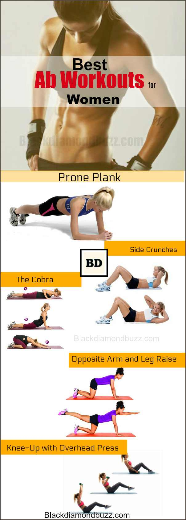 Ab Workouts For Women At Home 10 Killer Ripped Exercises
