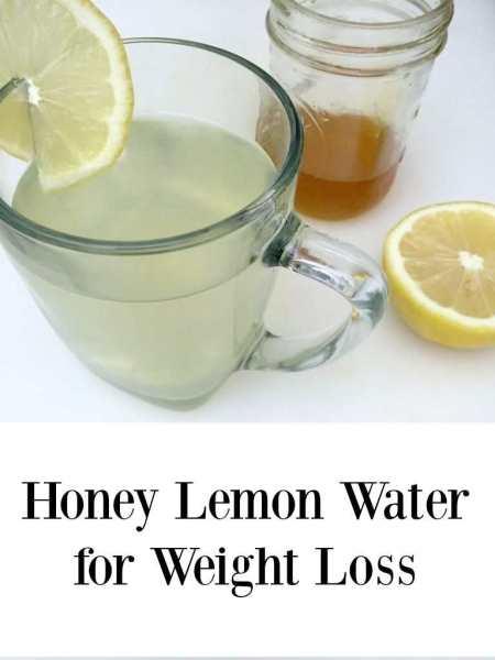 honey lemon for weight loss