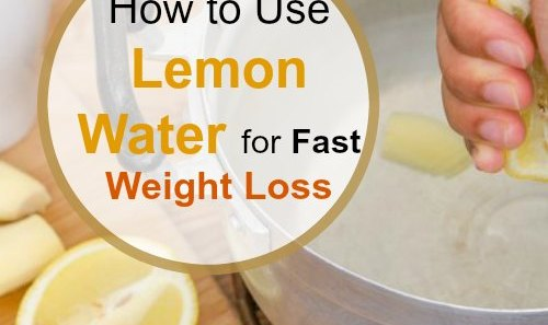 Lemon Water for Weight Loss -The Extreme Weight Loss Drink!