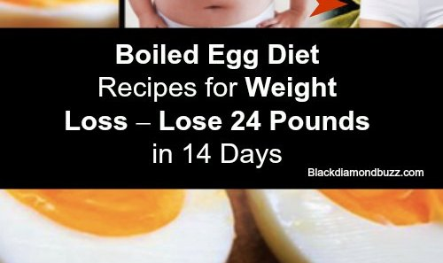 Boiled Egg Diet Plan - Do you want to lose weight naturally at home? Here are healthy boiled egg diet recipes for weight loss and flat belly that will make you lose 24 pounds in 2 weeks safely with success stories.Try it and share it!