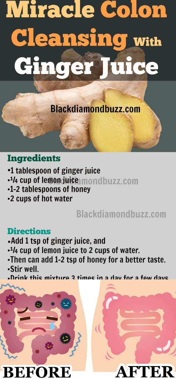 DIY Colon Cleanse and Detox Recipe Drink for Weight Loss
