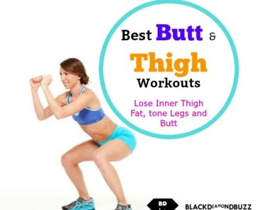 8 Butt and Inner Thigh Exercises to Lose Thigh Fat Fast at Home