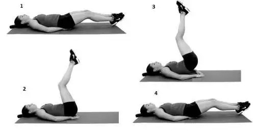 vertical hip lift- 10 Exercises For Smaller Waist, Big Hips and Flat Stomach