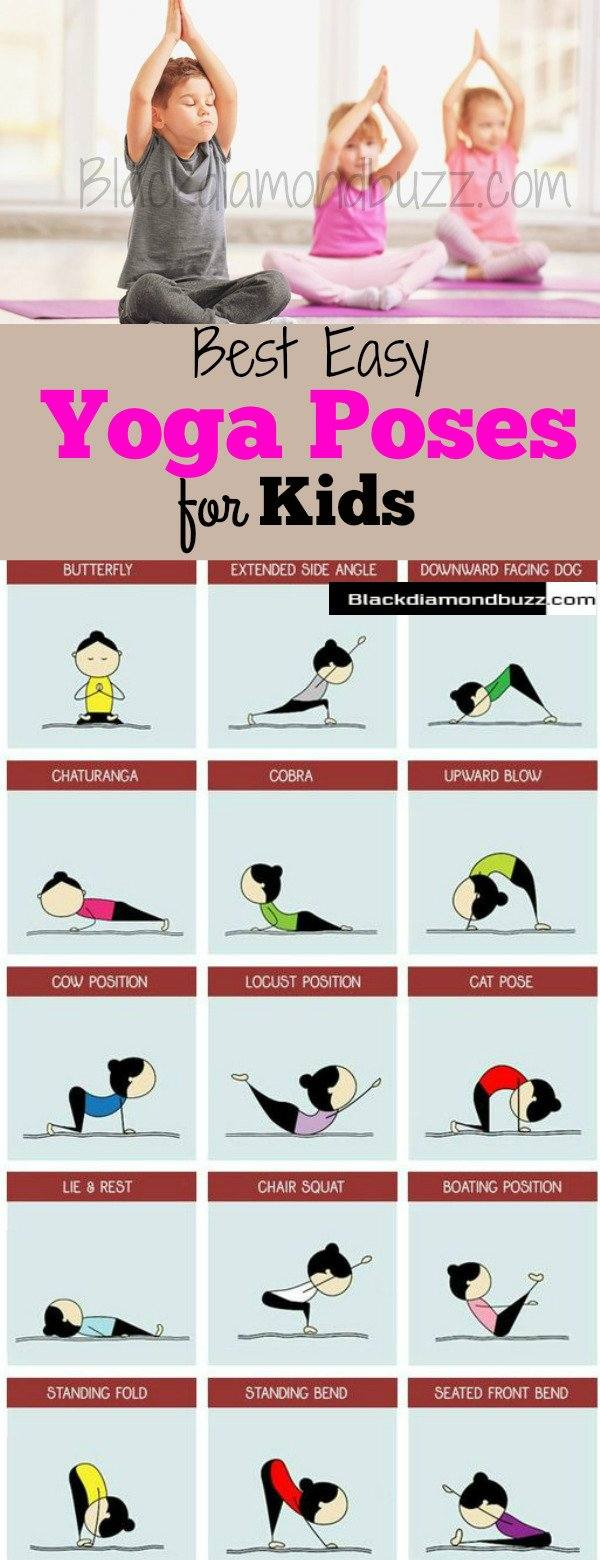 Yoga Poses For Kids 5 Easy Best Yoga Poses Safe For Your Kids