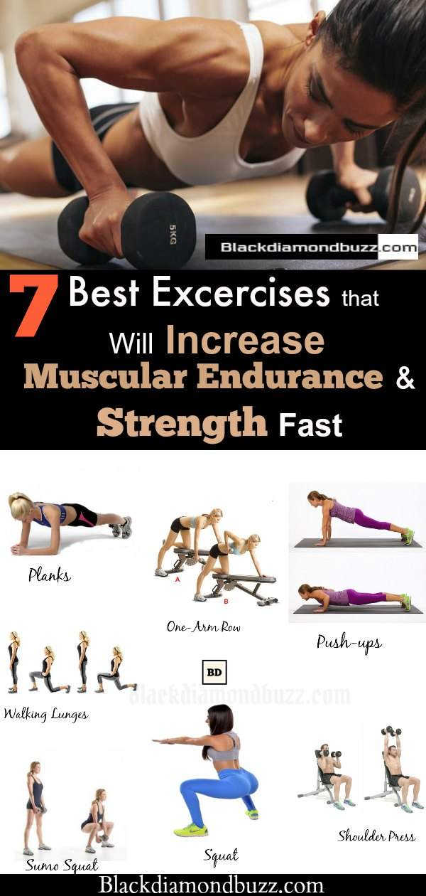 what kind of exercise can improve muscular endurance