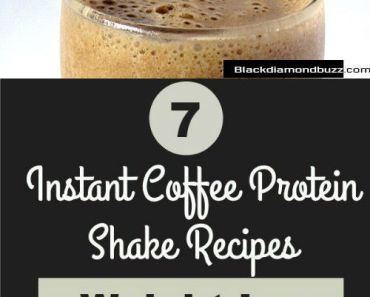 healthy Instant Coffee Protein Shake Recipes for weight loss