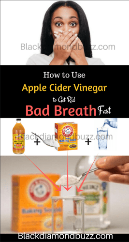 How to Use Apple Cider Vinegar to Stop Bad Breath