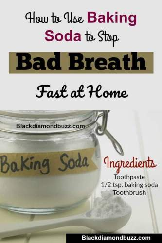 How to Use Baking Soda to Stop Bad Breath