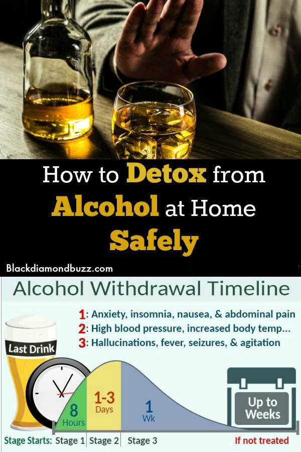 what is a home alcohol detox