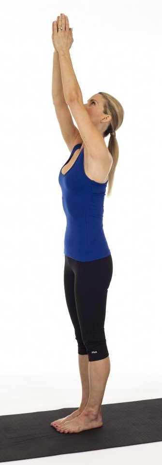 Mountain Pose- Yoga Poses For Back Pain and Neck Pain