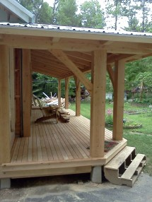 Small Timber Frame Projects Archives - Black Dog Timberworks
