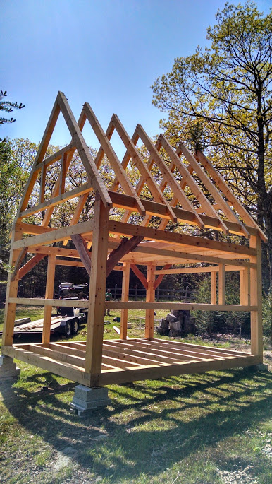 Small Timber Frame Projects Archives Black Dog Timberworks