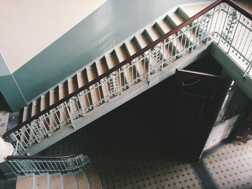 Beelitz verlaten ziekenhuis Berlijnse trappenhuis