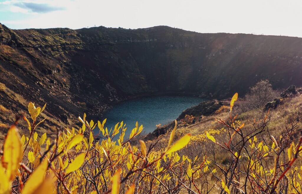 Kerid vulkanische krater Island Golden Circle