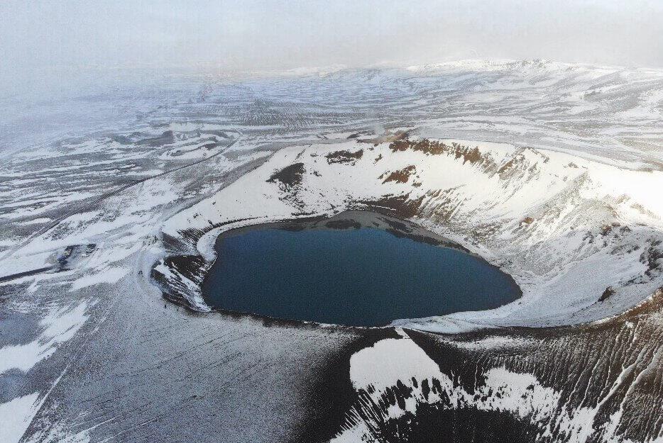Viti Krater Krafla Island