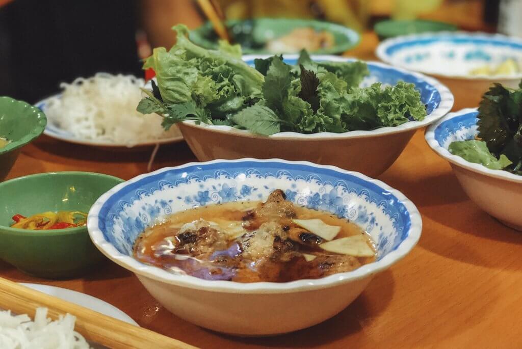 Bun Cha is gespecialiseerd in Vietnam