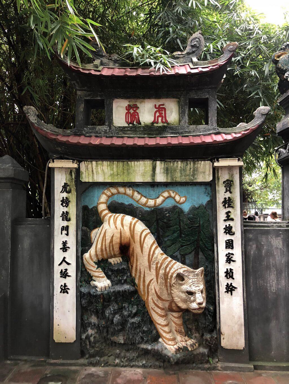 Hanoi tips Jadeberg-tempel