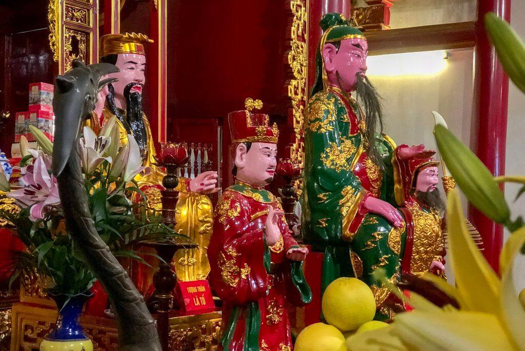 Jadeberg-tempel Hoan Kiem Lake Hanoi