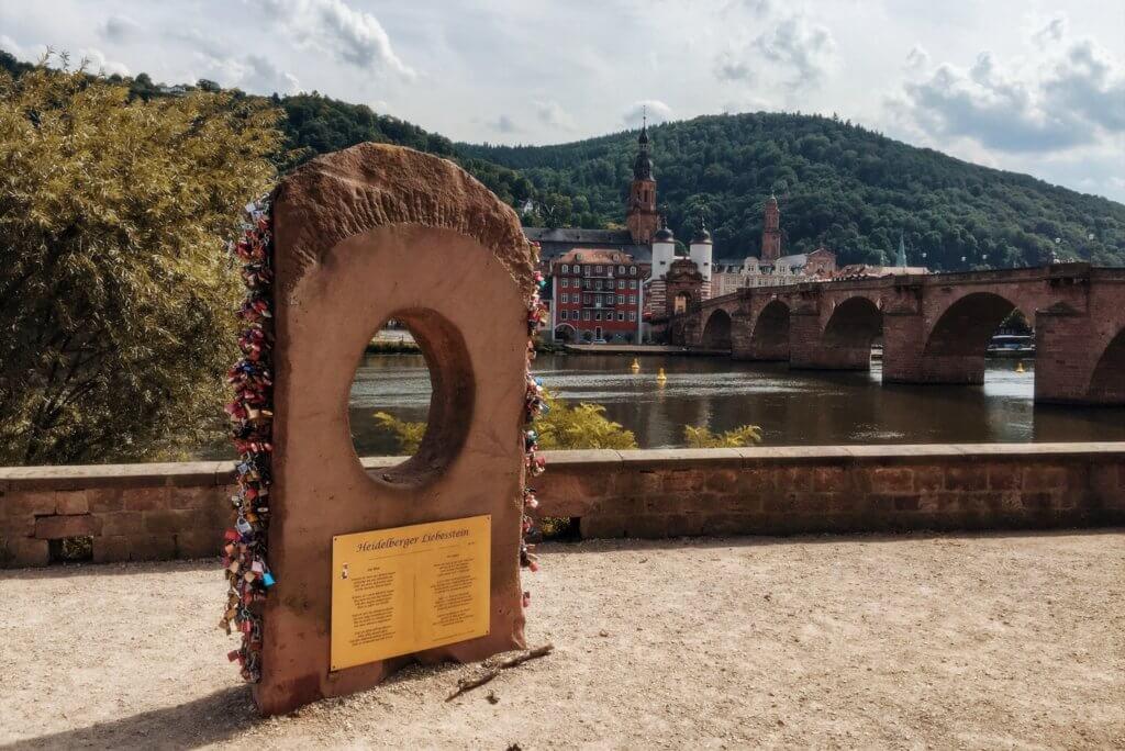 Heidelberg houdt van sloten oude brug