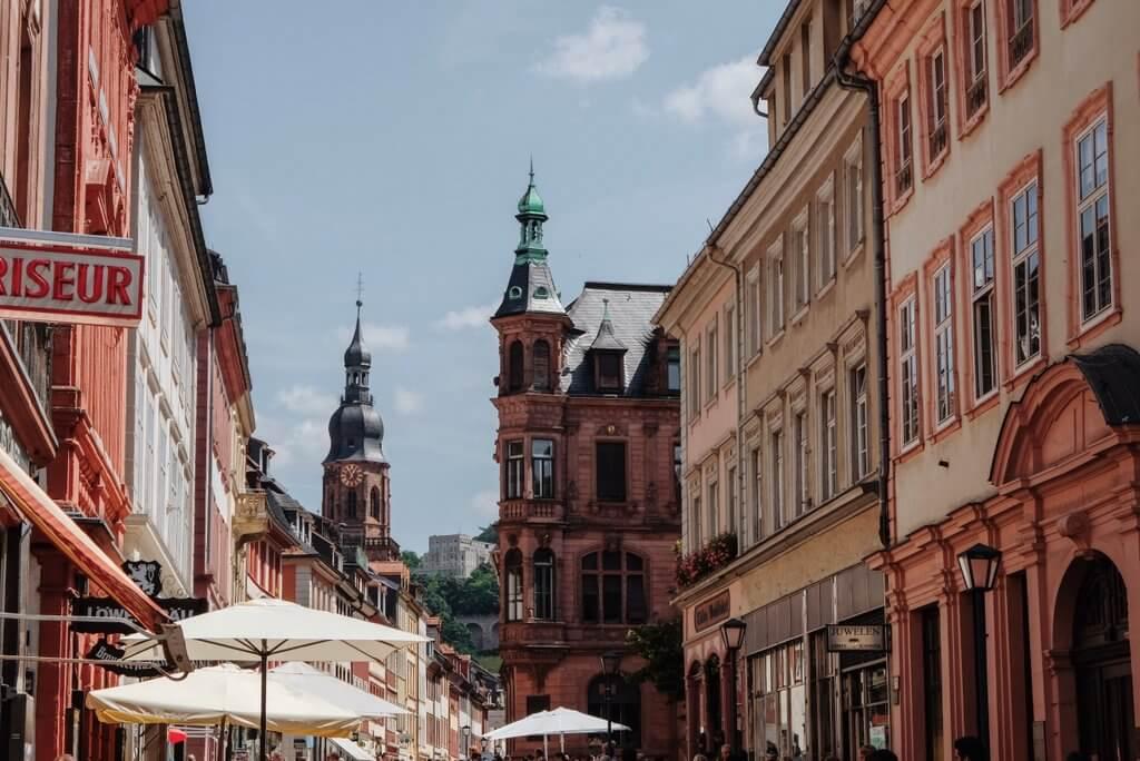 Heidelberg bezienswaardigheden oude stad