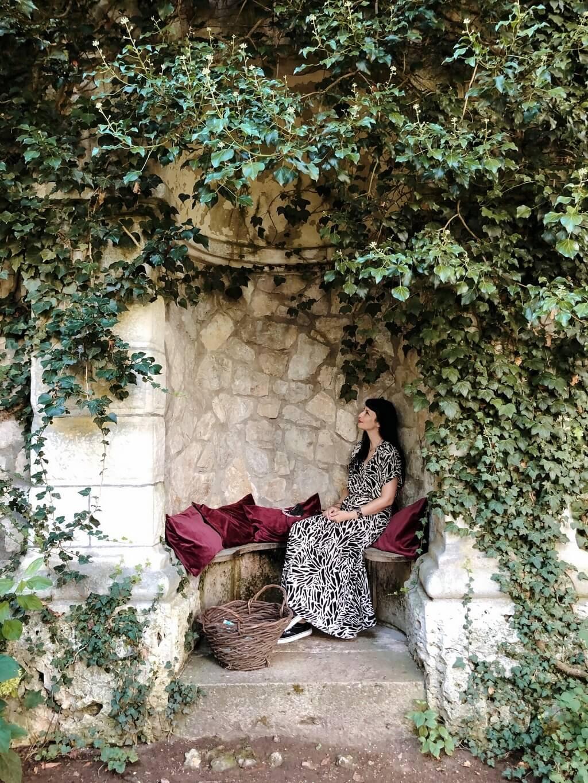 Baldern Castle Walled Garden