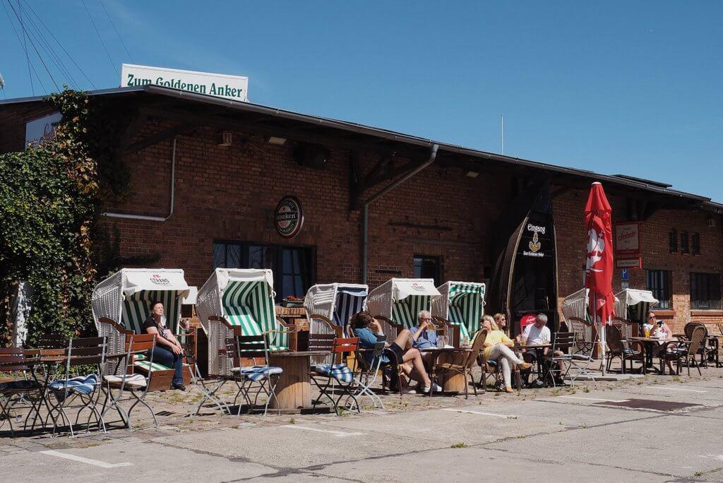 Stralsund tips Hafenkneipe voor de Goldener Anker