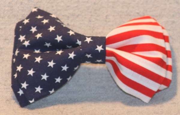 American Flag - Patriotic Bow Tie -free Shipping