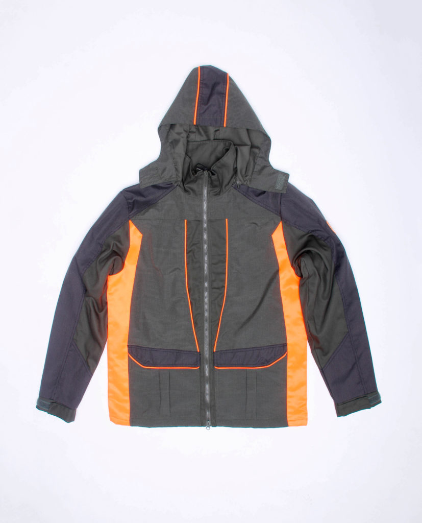 Giacca impermeabile con trapunta e zip ascellari RS Hunting LV132