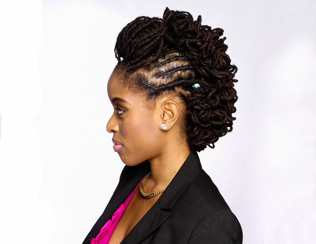 Chic Natural Hairstyles For The Office