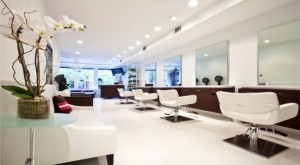Interior of Amoy Couture Hair Salon