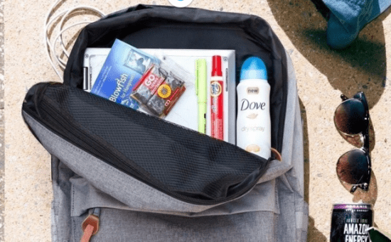 Jetpack Backpack with Products