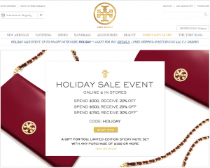 5bfb607b2ce7 Tory Burch Black Friday 2019 Sale   Deals - BlackerFriday.com