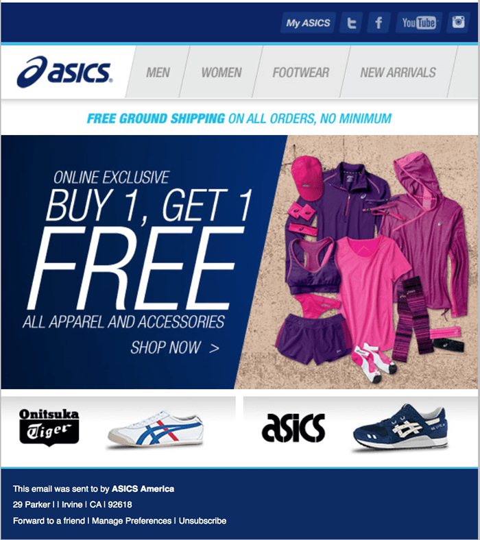 asics black friday deals