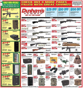 dunhams sports black friday ad scan - page 3