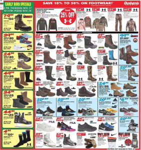 dunhams sports black friday ad scan - page 5