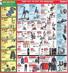 dunhams sports black friday ad scan - page 7
