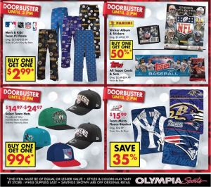 olympia sports black friday ad scan - page 6